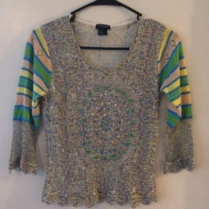 Jane Doe Collection beaded top